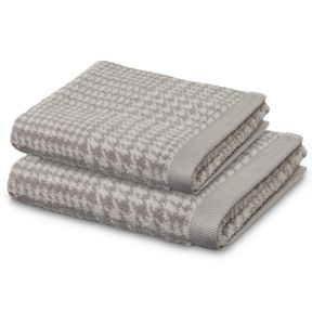 Move Prince of Wales towel range in Beige