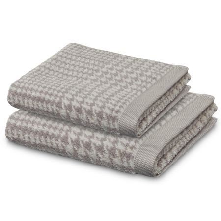 Move Prince of Wales hand towel nature and cashmere