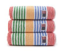 original striped towel range in multi