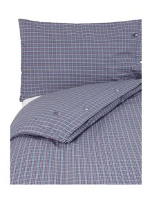 Authentic poplin bedding range in blue