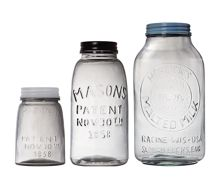 Linea Maritime Glass Jar Storage Range
