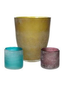 Glass Planter & Votive range
