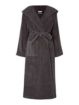 Zero twist pewter terry robe M/L