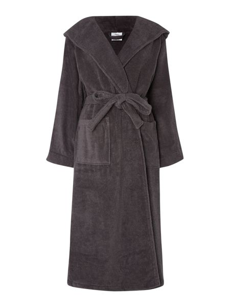 Luxury Hotel Collection Zero twist pewter terry robe M/L