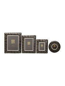 Biba Black Enamel photo frame range