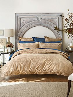 Sheridan Keating Rattan Single Duvet Cover Jacquard