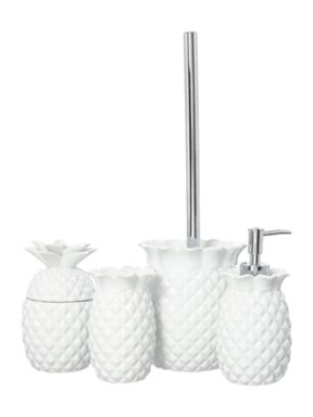 Linea Pineapple bath accessory range