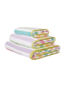 Multi stripe bathing range