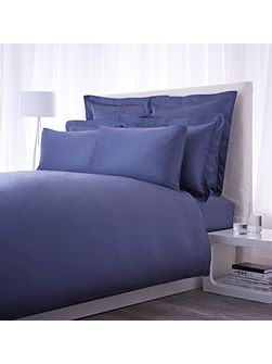 500 TC airforce blue fitted sheet super king
