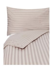 Wide Sateen Stripe Grey bedding range