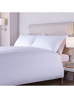 400tc crisp percale flat sheet pair super king