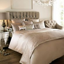 Kylie Minogue Allegra Shell bed linen range