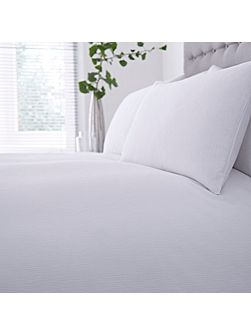 Darcy white double duvet cover
