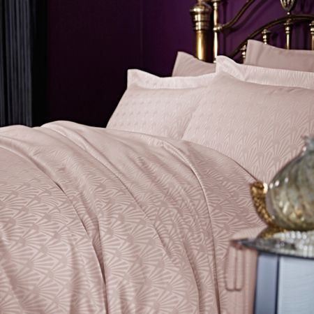 Biba Deco fan double duvet cover