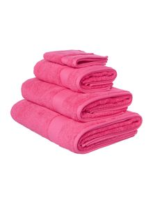 Linea Softer feel egyptian hot pink range