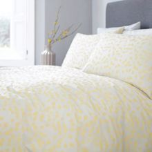 Living by Christiane Lemieux Pollen print king duvet cover