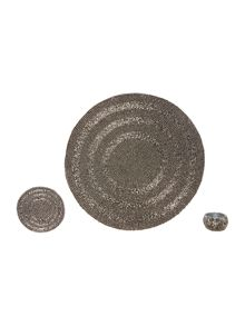 Linea Pewter Halo Tabletop Range