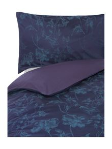 Midnight jacquard bedding range
