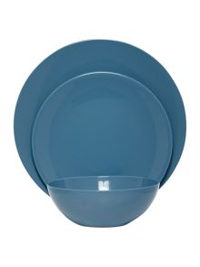 Linea Blue China Dinnerware Range