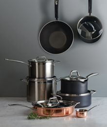 Capri Stainless Steel Pan Range