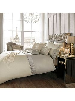 Diamond and Pearl Oyster super king duvet cover