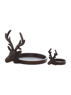 Linea Stag Pillar Candle Holder Range