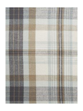 Linea Arran flannel check bedding range