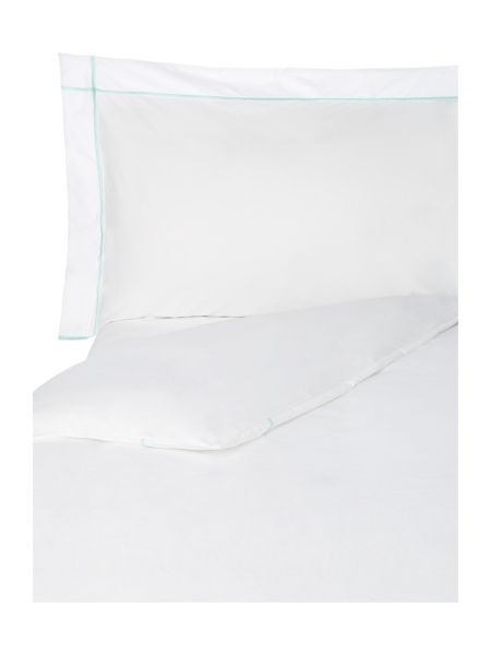 Yves Delorme Athena glace single flat sheet