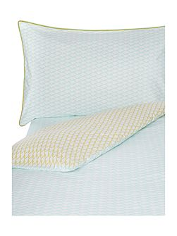 Voguer menthe super king fitted sheet