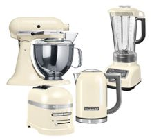 Cream Kitchenaid Range