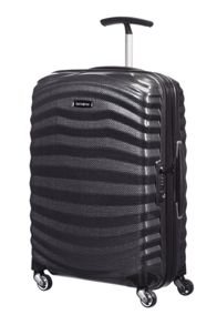 Samsonite Lite-Shock black 4 wheel Luggage set