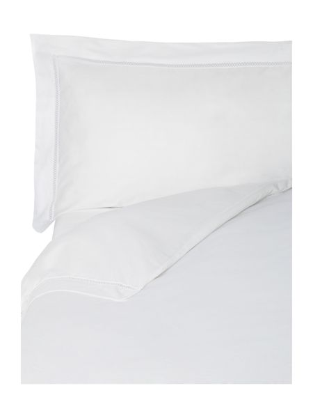 Yves Delorme Walton blanc king pillow case