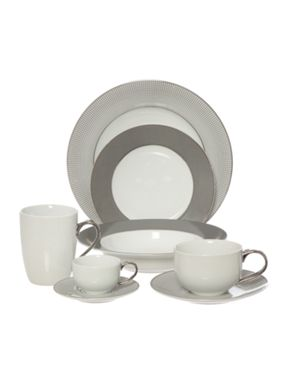 Casa Couture Microdot china dinnerware range