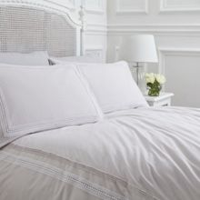 Isabel grey super oxford pillowcase pair