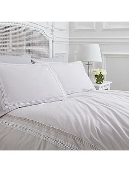 Isabel grey double duvet cover