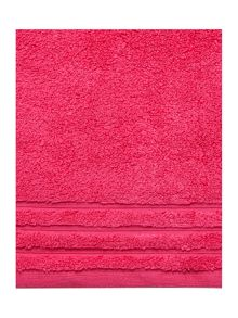 Zero Twist bath towel range - Coral