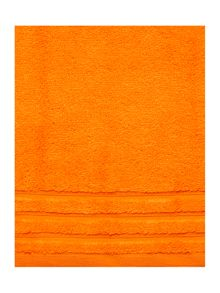 Zero Twist bath towel range - Orange