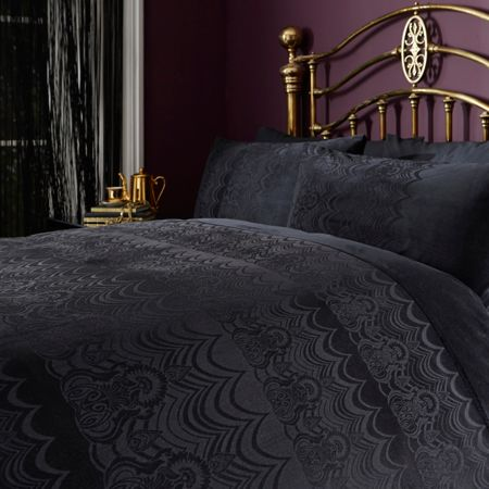 Biba Angelica velvet double duvet cover