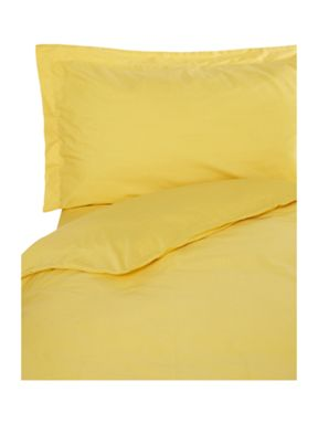 Linea Egyptian cotton bedding range in Yellow