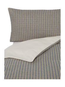 Fletcher gingham bedding range