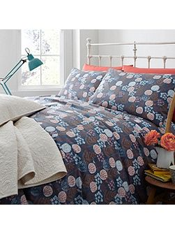 Heath print double duvet cover