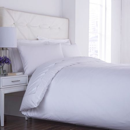 Luxury Hotel Collection 400TC touch of velvet white oxford pillowcase