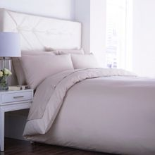 Velvet touch bed linen range in Moonbeam