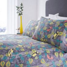 Living by Christiane Lemieux Wildwood birds king duvet cover