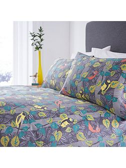 Wildwood birds king duvet cover