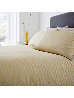 Casual chevron double duvet cover
