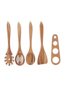 Gray & Willow Acacia wooden utensil range