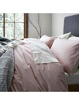 Stockholm red stripe super king duvet cover