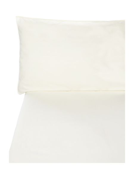 Gray & Willow Parchment 200tc super king fitted sheet
