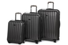Titanium II grey luggage set